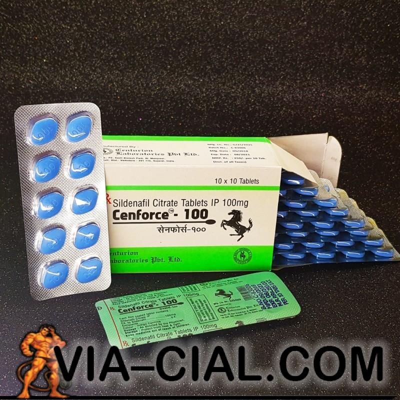 Viagra (Générique) Sildenafil 100mg - VIA-CIAL