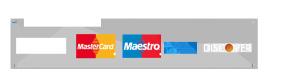PayPal VISA MasterCard AMEX akseptert her